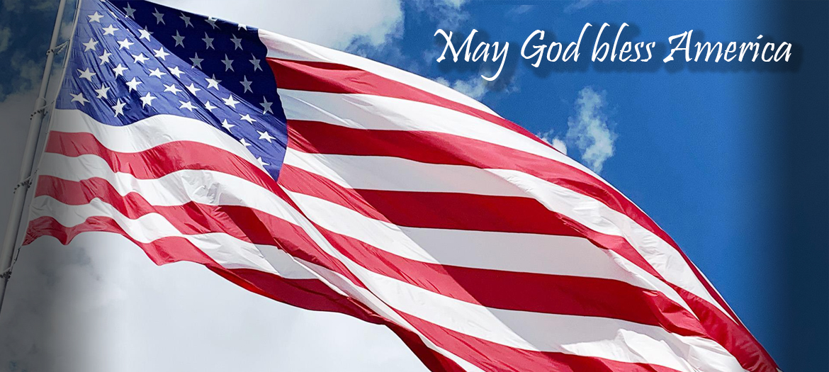 May God bless America