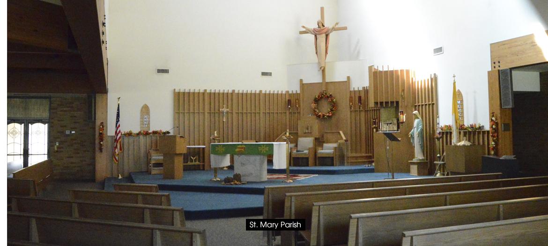 St. Mary, Reynoldsville inside