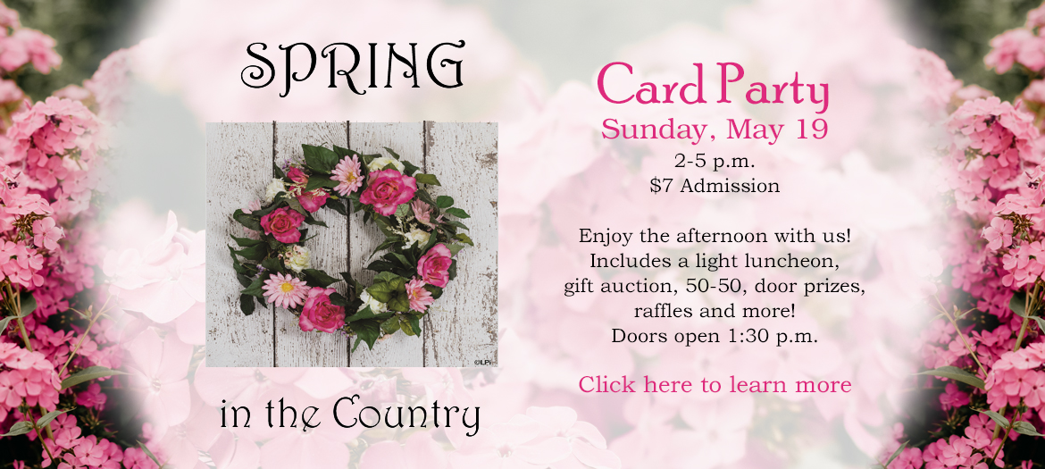 Card Party - May 19