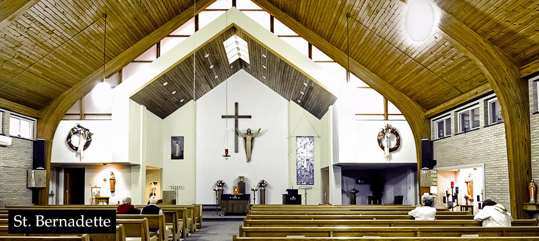 St. Bernadette inside