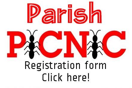 Parish picnic registration form button