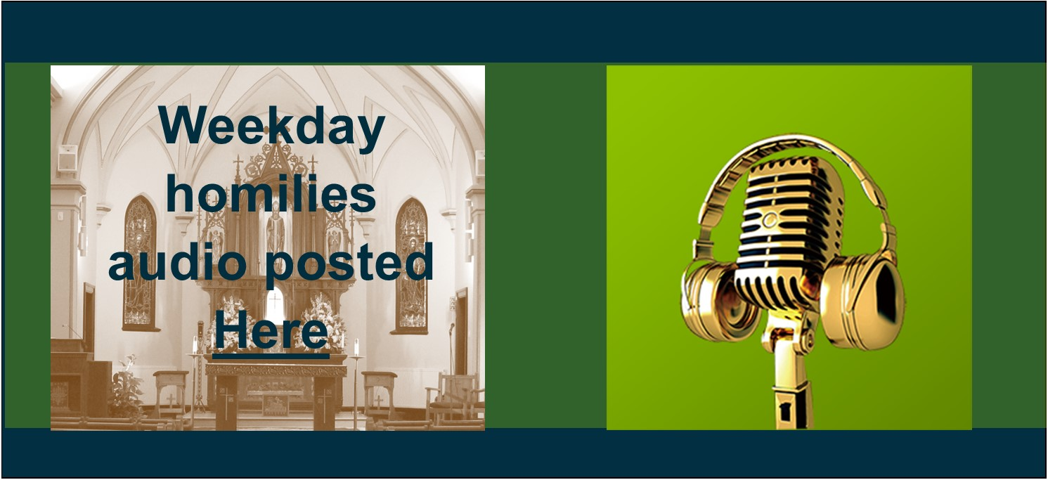 Weekly Mass Audio