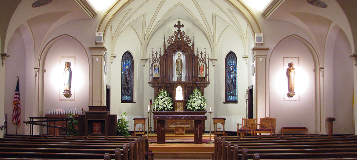 Altar at St. Boniface Church, Erie
