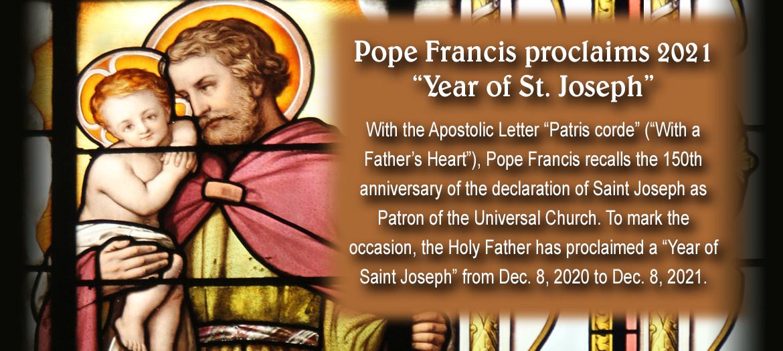 2021 Year of St. Joseph