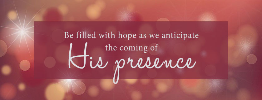 Be filled with hope