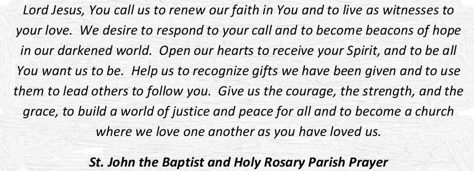 Partnered Parish Prayer