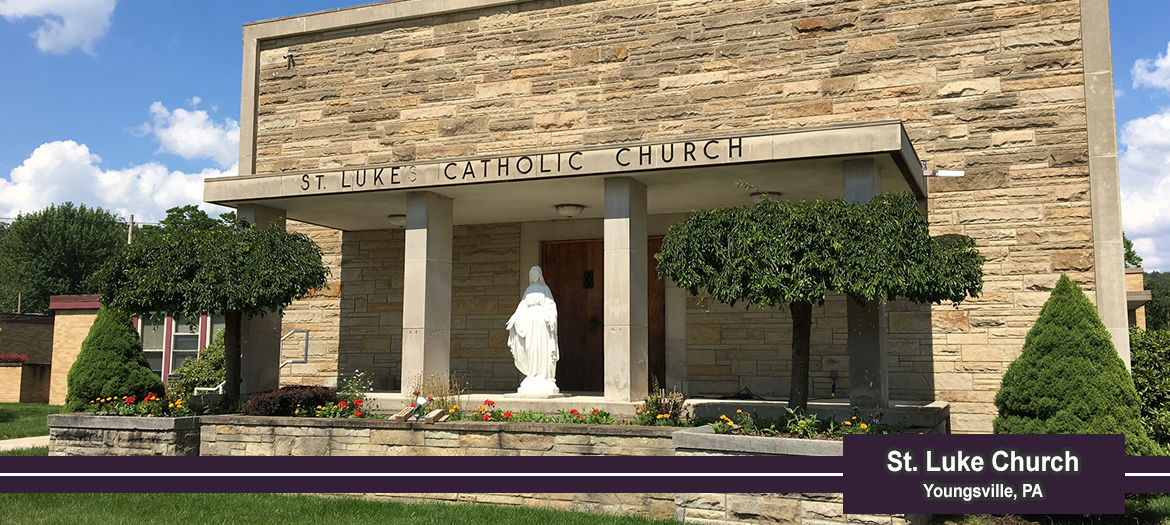 St. Luke, Youngsville - outside