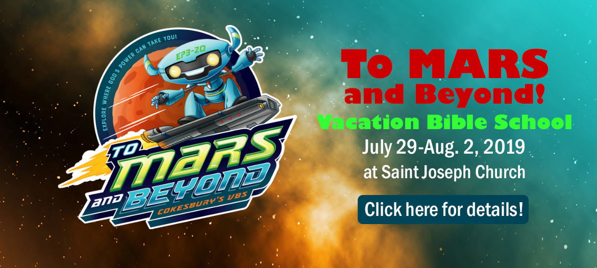 To Mars and Beyond! Vacation Bible school