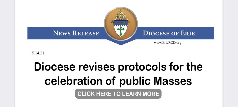 Revised protocols for public Masses