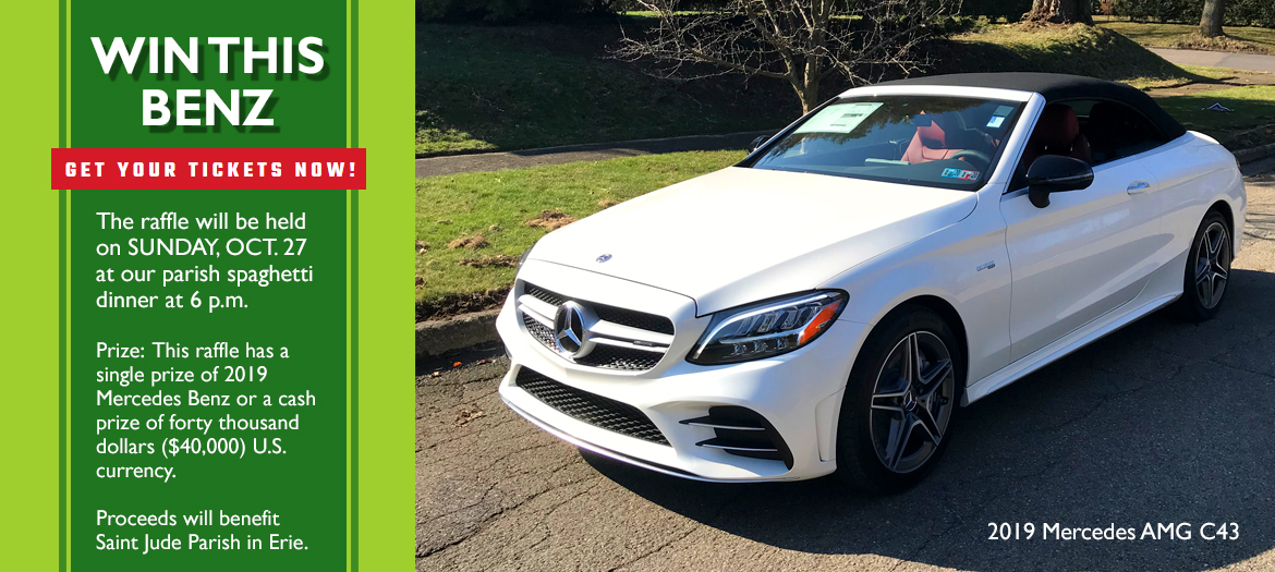 Win this Benz 2019