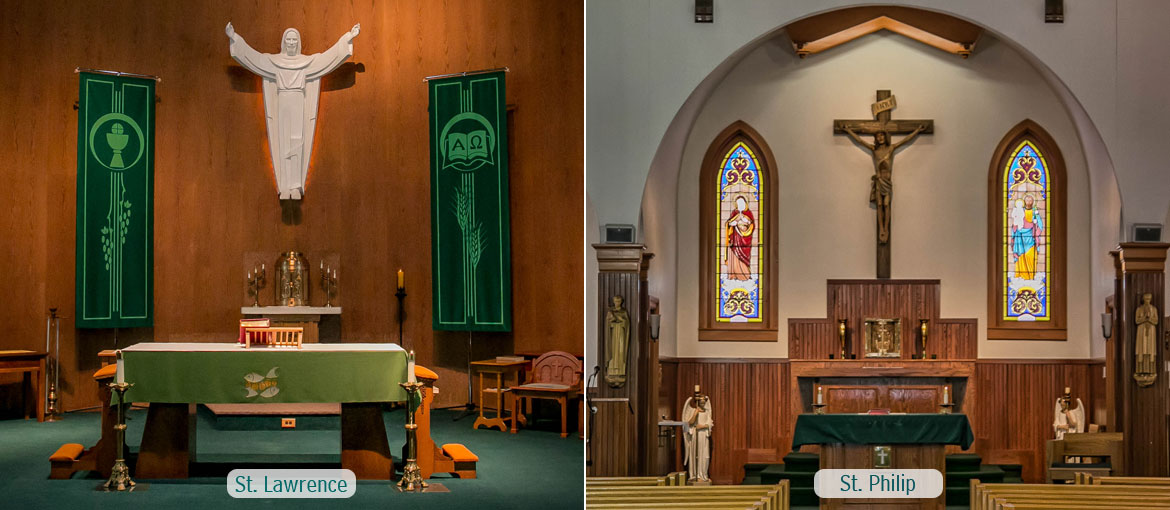St. Lawrence and St. Philip Parishes
