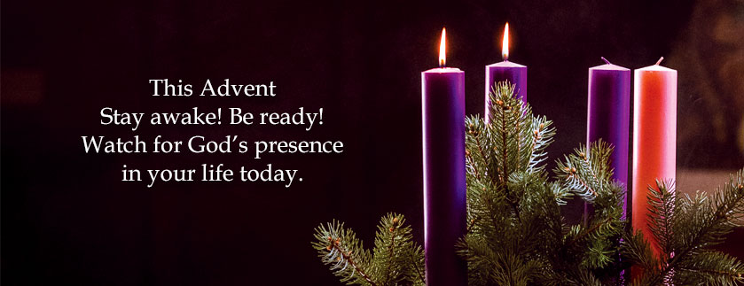 Watch for God's presence in your life today.
