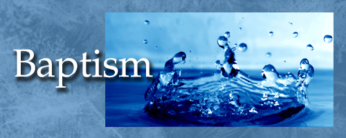 Baptism header graphic