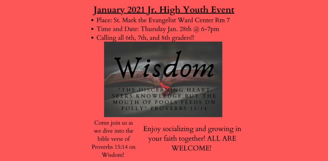 Jr High Youth Event
