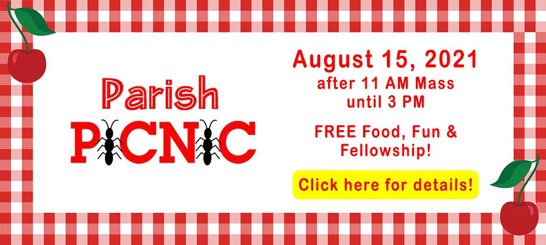 2021 parish picnic