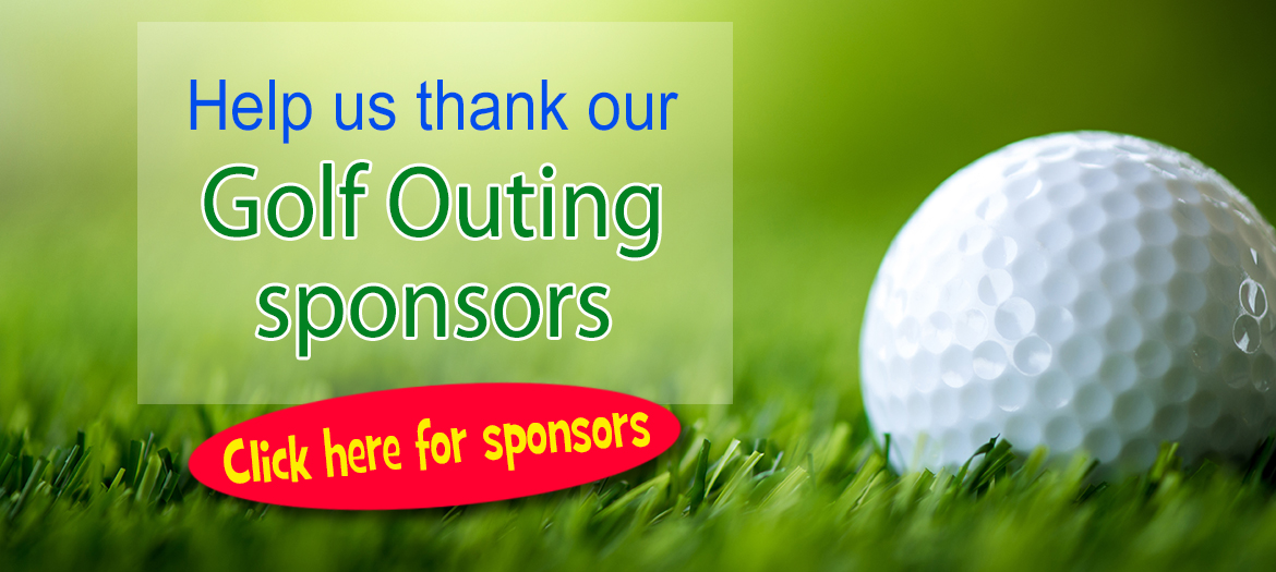 Thank you to golf outing sponsors