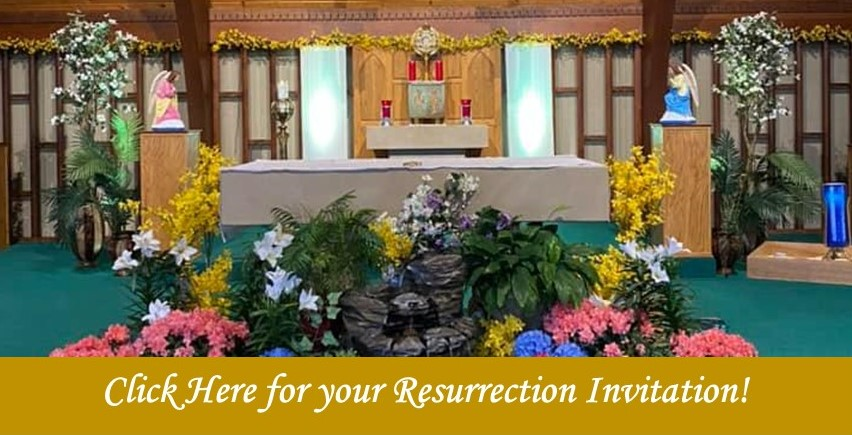Resurrection Invitation